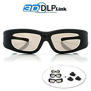 cinemax lunettes 3d dlp link wave xtra 3 paires de lunettes 3d avec chargeurs full hd 1080p. Black Bedroom Furniture Sets. Home Design Ideas