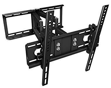 Ricoo ricoo support tv mural orientable r28 double bras articul tv led lcd fixation murale tv - Meuble tv avec support mural ...