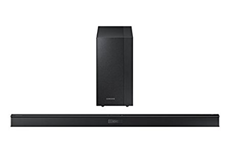 samsung hw j450 zf barre de son avec caisson de base sans fil usb jack optique hdmi 300 w noir. Black Bedroom Furniture Sets. Home Design Ideas